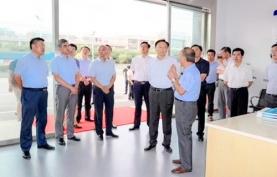 扬州市市长夏心旻带队来实验室进行专题考察调研